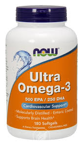 Now Foods <b>ultra omega 3</b> fish oil <b>180</b> sgels, Pack of 2 - Walmart.com ...
