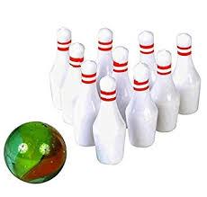 Rhode Island Novelty Mini Bowling Game 6 Per Order ... - Amazon.com