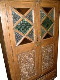 antique armoire rustic hand carved storage cabinet indian furniture antique armoire furniture