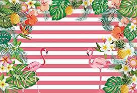 Laeacco Pink Flamingos Photo Background 7x5ft ... - Amazon.com