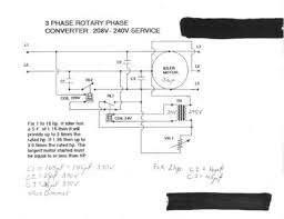 rotary phase converter designs and plans based upon an original set of schematics of a friend of mine my modifications ie letting the l3 voltage rise determine when