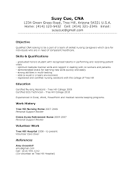 cna resume no experience best business template resume for cna experience cna resume cover letter template for cna resume no experience 5610