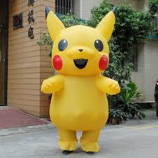 <b>Inflatable Pikachu Costume</b> - Cosplay4Less
