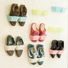 <b>Creative</b> Bathroom Plastic Storage Shelf,Suction Wall <b>Shoe Rack</b> ...