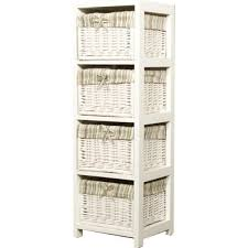 white storage unit wicker: bathroom storage rattan bathroomstoragerattan  bathroom storage rattan