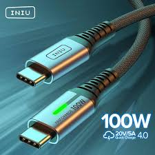 KUULAA USB C to USB Type C Cable <b>PD</b> 100W <b>60W Fast</b> Charger ...