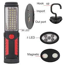 Powerful 36+5 LED 3000 Lumens <b>Portable Flashlight</b> Magnetic ...