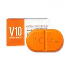 Очищающее <b>мыло</b> с витаминным комплексом Some By Mi <b>Vitamin</b> ...