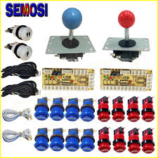 2 Player 2 Players <b>DIY Arcade Joystick Kits</b> With 20 LED <b>Arcade</b> ...
