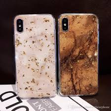 luxury gold foil bling leopard spot phone case for iphone x xr xs max glitter cover 6 7 8 6s plus coque