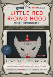 once upon a blog hitrecorderly issue little red riding hitrecorderly issue 1 little red riding hood redux