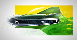 Opel показал новый дизайн <b>радиаторной решётки</b> для будущих ...