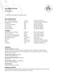 artist resume format cipanewsletter sample resume how to write commercial artist resume commercial