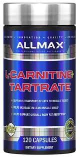 ALLMAX <b>L</b>-<b>карнитин</b> + <b>tartrate</b> (<b>120</b> шт.) — купить по выгодной ...