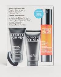<b>Clinique</b> for men <b>daily energy</b> and protection set | ASOS