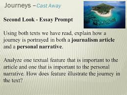 personal journey essay all people have the same journey to take   their life as well as in