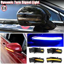 For Ford Mondeo 2014-2018 <b>Dynamic</b> LED Side Mirror <b>Turn Signal</b> ...