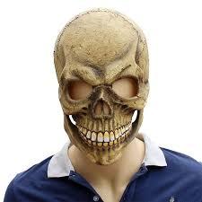 <b>Halloween</b> Latex <b>Mask</b> Zombie Horror <b>Grimace Mask</b> Scary Skull ...