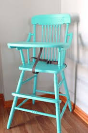 antique high chair repainted love antique high chairs wooden