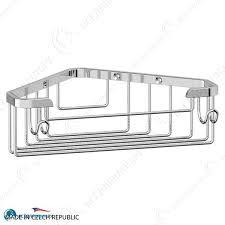 <b>Полочка</b>-<b>решетка с крючками угловая</b> 18 cm - купить по цене 2 ...