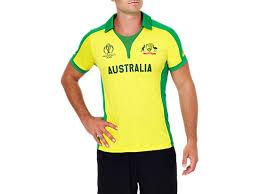 OFFICIAL AUSTRALIA ICC CWC <b>2019 SHIRT</b> | <b>MEN</b> | <b>Yellow</b> ...
