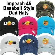 Impeach 45 Impeach Trump <b>Dad</b> Polo Hat Resist Resistance   Etsy