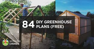 DIY Greenhouse Plans You Can Build This Weekend  Free