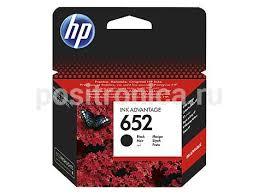 Купить <b>Картридж HP 652</b> черный (F6V25AE) в интернет ...