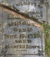 martha patsy wright 1790 1873 a grave memorial martha patsy wright