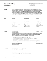 Special Guides for Those Really Desire Best Business School Resume     Domainlives Finance Manager Resume Sample Finance Resume Examples