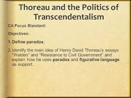 literary term aphorism an aphorism is a brief cleverly worded  thoreau and the politics of transcendentalism ca focus standard objectives define paradox