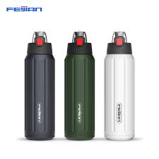 <b>FEIJIAN</b> Thermos Shaker Bottle Portable <b>Sport Water Bottle</b> Double ...
