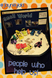 best ideas about bob the builder boys birthday my small world tray for the topic people who help us
