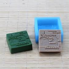 Square Handmade Soap Mold Mould <b>Silica Gel Soap Mold</b> for ...