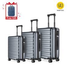 <b>NINETYGO 90FUN</b> 20 24 28 дюймов набор, серый <b>чемодан</b> из ...