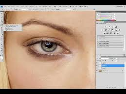 how to remove basic make up using adobe photo