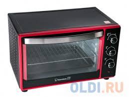 <b>Мини</b>-<b>печь Endever Danko 4035</b>, чёрно-красный, 1600 Вт., объем ...