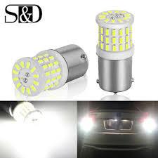 <b>2Pcs 1156 BA15S P21W</b> 57SMD Ceramic LED Car Tail Backup ...