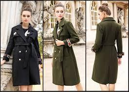 AOFULI M XXXL Women Embroidery X long <b>Woolen Coat</b> With Belt ...