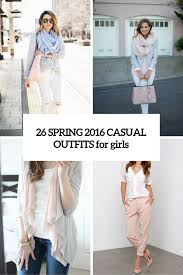 26 Stylish And Cute Spring <b>2016 Casual</b> Outfits For <b>Girls</b> - Styleoholic