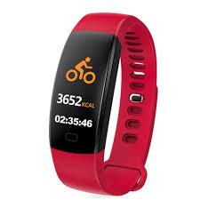 Фитнес-<b>браслет ZDK F64</b>, красный — купить в интернет ...