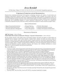 resume examples for corporate communication professional with central head corporate communication resume