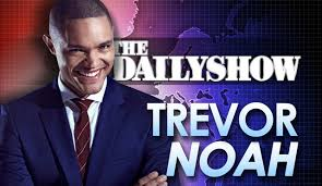 Image result for daily show trevor
