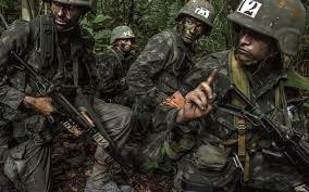 Resultado de imagem para Foto: soldado brasileiro na selva
