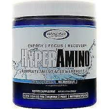 Gaspari Nutrition <b>Hyperamino</b> 30 Servings <b>HYPER Amino</b> Blue ...