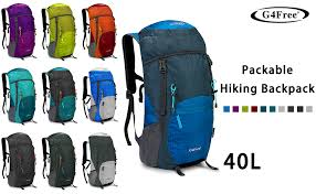 G4Free Lightweight Packable Hiking Backpack 40L ... - Amazon.com