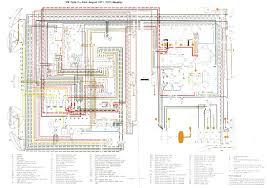 vw wiring diagrams 1971 1972