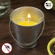 <b>Свеча</b> с ароматом цитронелла в <b>ведерке</b> | Купить по оптовой цене