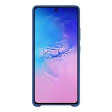 Купить силиконовый <b>чехол для Samsung Galaxy</b> S10 Lite синий ...