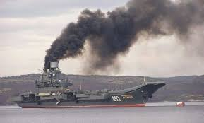 No more <b>smoke on the water</b> from Russia's aircraft carrier | The ...